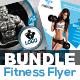 Fitness Flyer - Gym Flyer Bundle