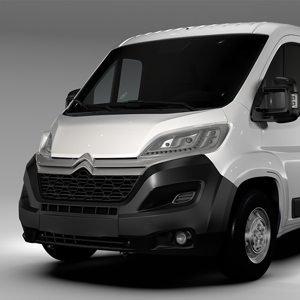 Citroen Relay Van L2H1 2017 - 3DOcean Item for Sale