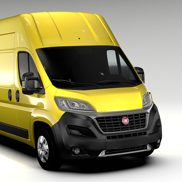 Fiat Ducato Van L3H3 2017 - 3DOcean Item for Sale