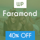 Faramond - Creative Blog WordPress Theme Nulled