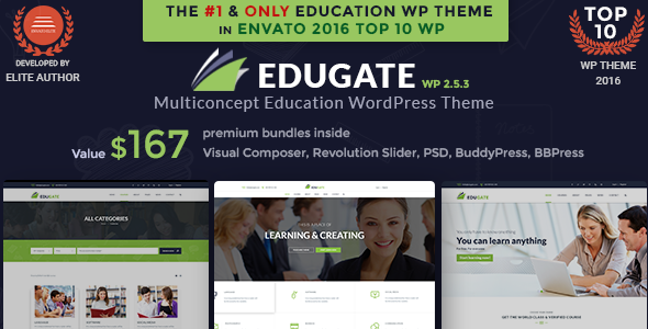 Education WordPress Theme | Education WP Edugate