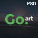 Go.Art - A Creative Art & Photography PSD Template - ThemeForest Item for Sale