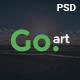 Go.Art - A Creative Art & Photography PSD Template Nulled
