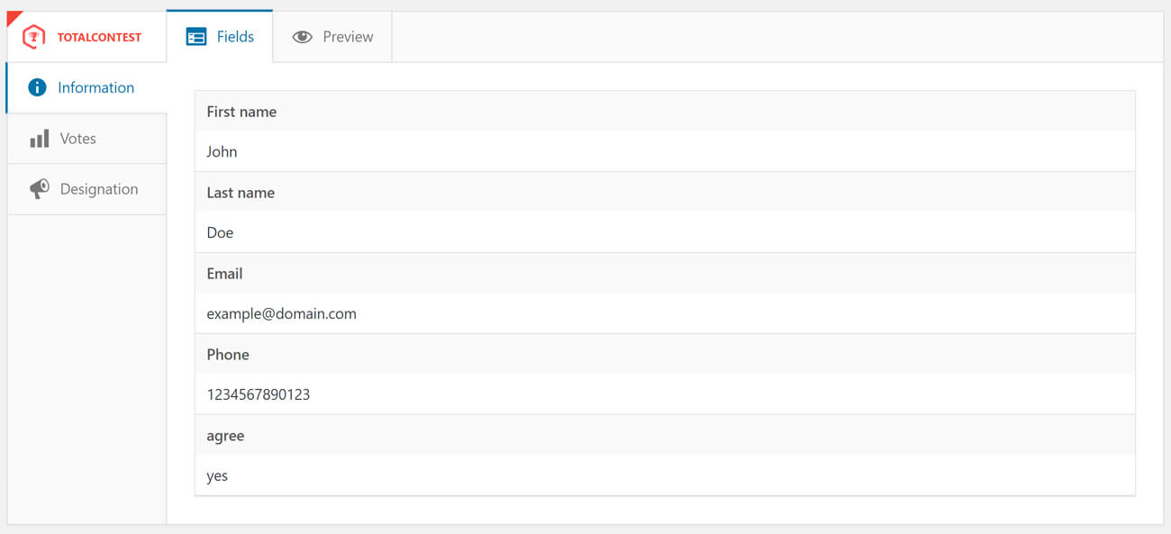 TotalContest Pro - Responsive WordPress Contest Plugin