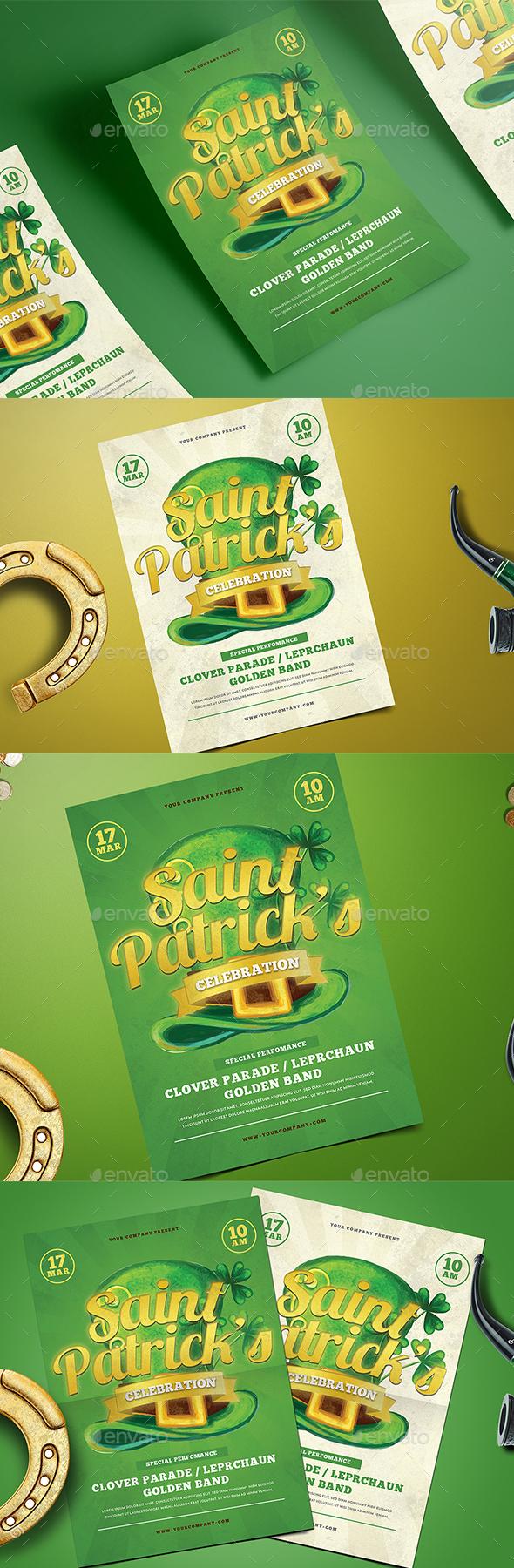 St.Patrick Celebration Flyer - Events Flyers