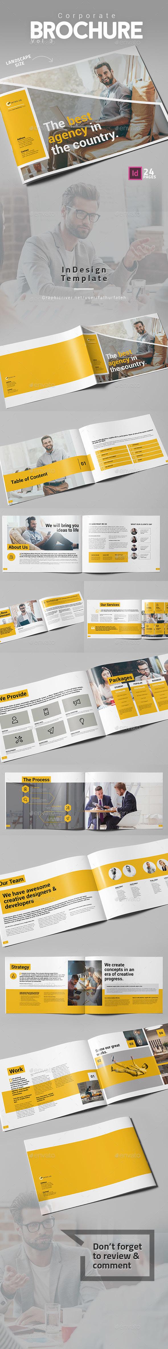Corporate Brochure Vol.3 Landscape - Corporate Brochures