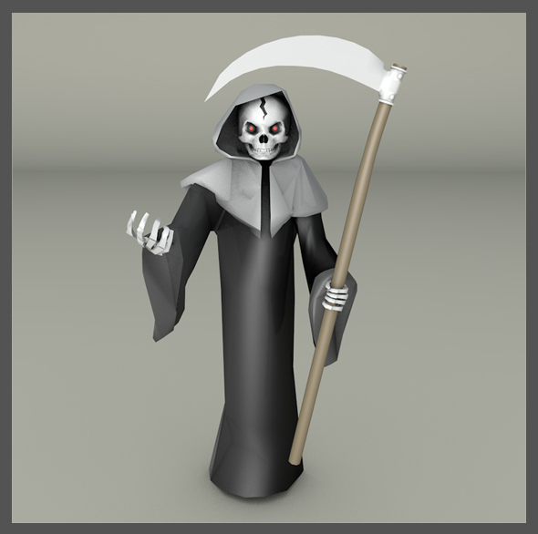 Grim Reaper - 3DOcean Item for Sale