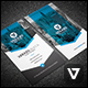 Clean & Modern Vertical Business Card Template - GraphicRiver Item for Sale