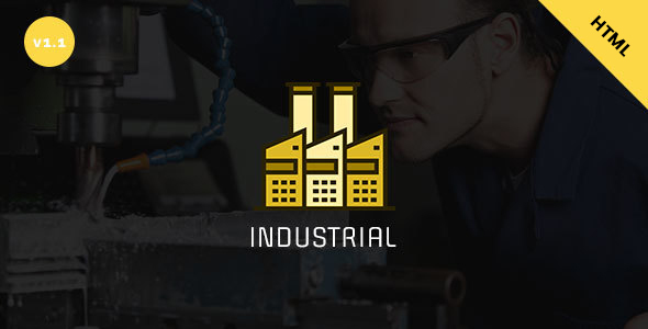 Industrial – Industry & Business HTML Template