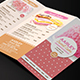 Pastry / Cake Trifold Menu - GraphicRiver Item for Sale