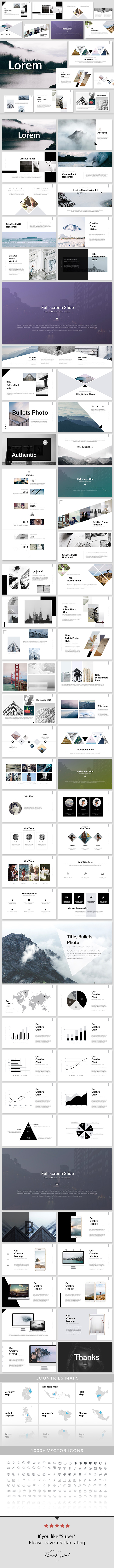 Lorem - PowerPoint Presentation Template - Creative PowerPoint Templates
