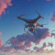 Quadcopter Drone - Sunset - VideoHive Item for Sale
