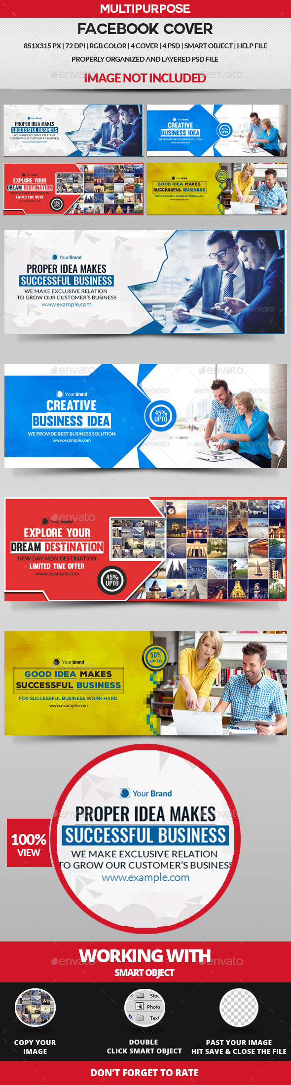 Facebook Cover - 4 Design - Facebook Timeline Covers Social Media