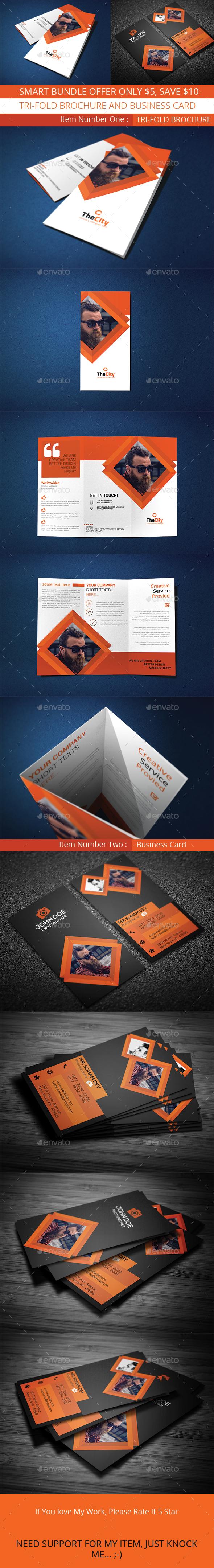 Smart Bundle - Brochures Print Templates