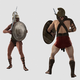Gladiators Fighting - VideoHive Item for Sale