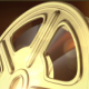 Golden Film Reels Backgrounds - VideoHive Item for Sale