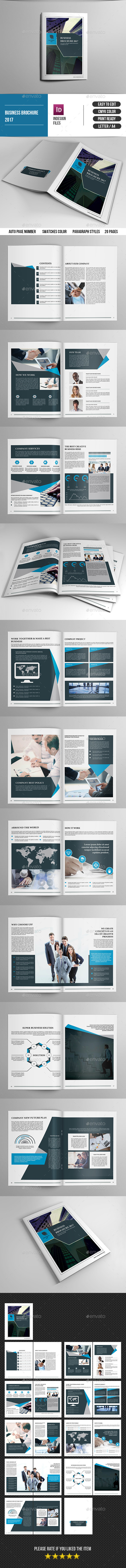 Business Brochure Template-V416 - Corporate Brochures