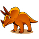 Cartoon Triceratops - GraphicRiver Item for Sale