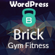 Gym brick gym fitness WordPress Theme RTL Nulled
