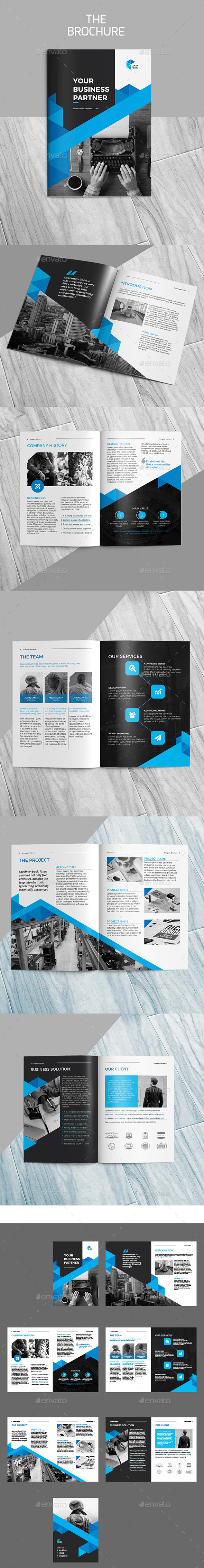 The Brochure - Brochures Print Templates