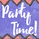 Party Time! Watercolor & Marker Set - GraphicRiver Item for Sale