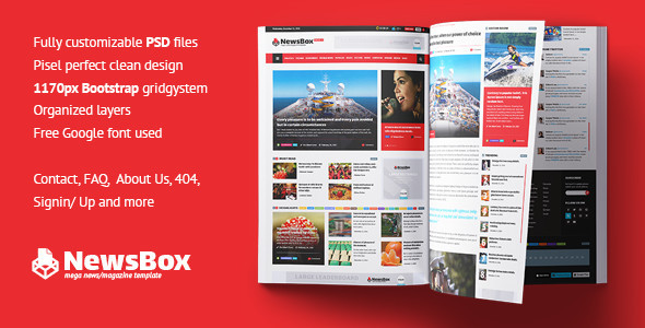 NewsBox – News Magazine Newspaper