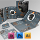 Products Brochures + Trifold + Flyer + Biz Card - GraphicRiver Item for Sale