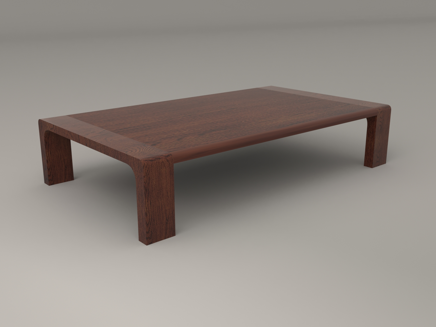 Japanese Style Low Dining Table and Chair by Artemishe 3DOcean