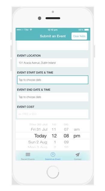 ios Dating-App-Vorlage