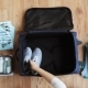 Hands Packing Travel Bag with Personal Stuff 22 - VideoHive Item for Sale