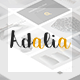 Adalia - Multi & One Pages Modern PSD Template Nulled