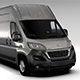 Peugeot Boxer Van L4H3 2017 - 3DOcean Item for Sale