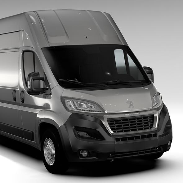 Peugeot Boxer Van L4H3 2017 - 3DOcean Item for Sale
