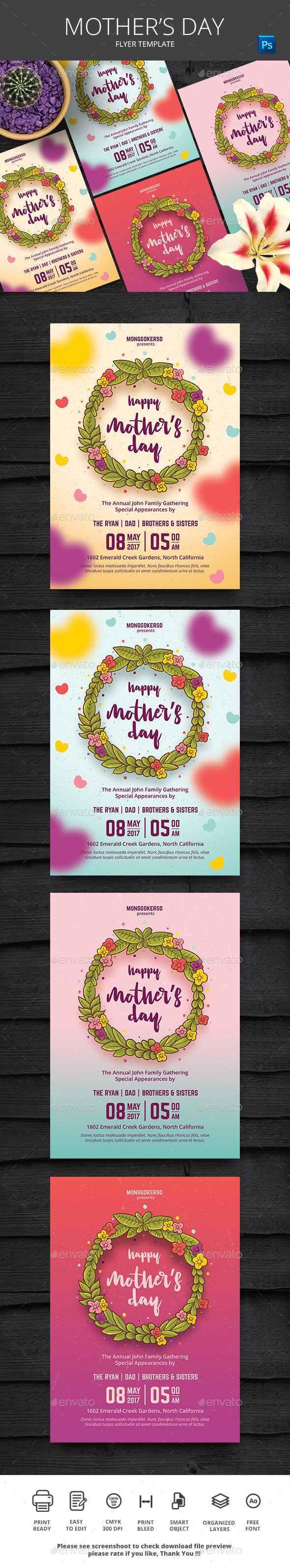 Mother's Day - Events Flyers