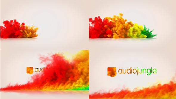 Color Blast Logo Reveal