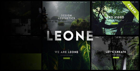 Leone – One Page Multi Purpose WordPress Theme