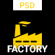 Factory - One page PSD Template - ThemeForest Item for Sale