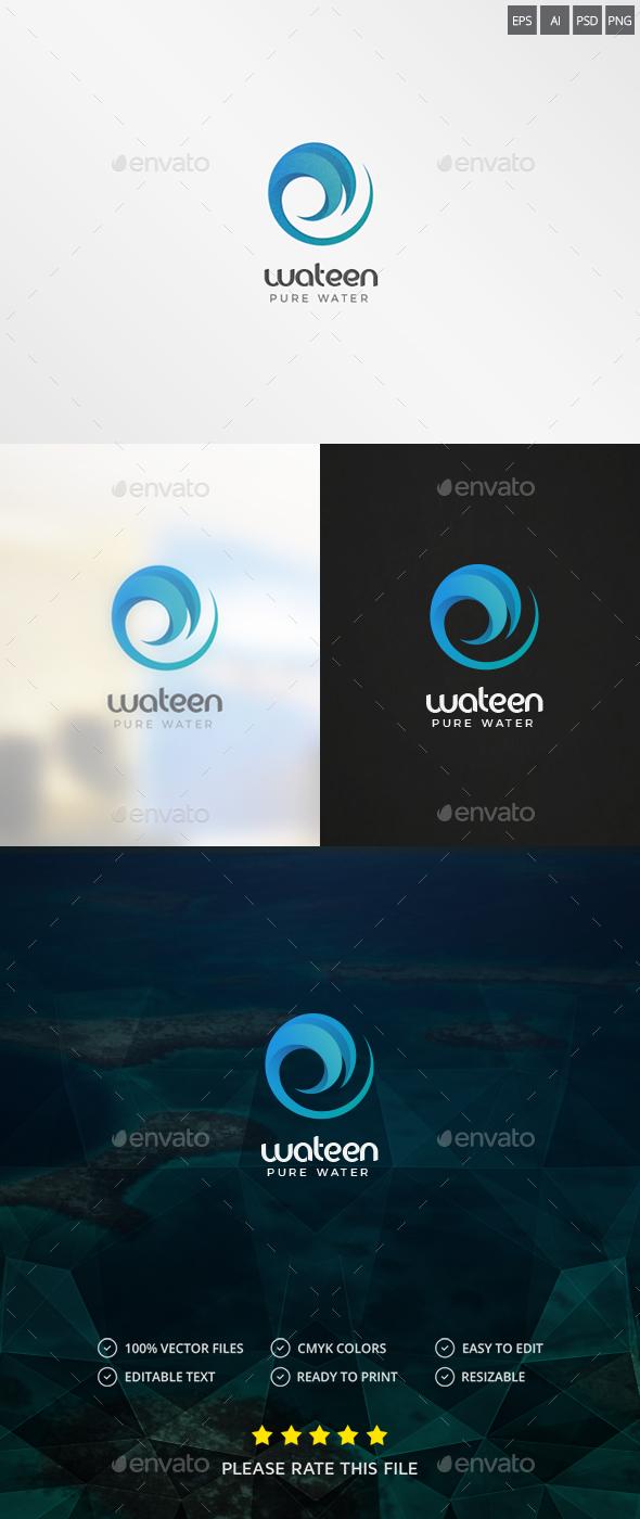 Water / Wave Logo - Nature Logo Templates
