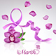 Greeting Card  on 8 March - GraphicRiver Item for Sale