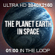 The Planet Earth in Space - VideoHive Item for Sale