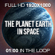 The Planet Earth in Space HD - VideoHive Item for Sale