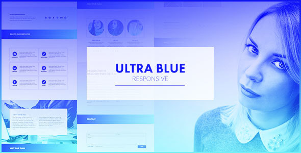 Ultra Blue – Responsive Multipurpose Muse Template
