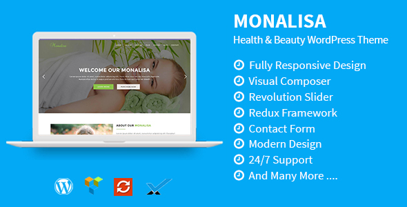 Monalisa – Health & Beauty WordPress Theme