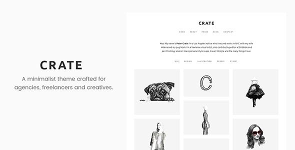 Crate – Minimalist WordPress Theme
