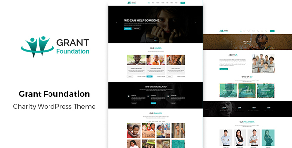 Grant – Responsive Charity WordPress Theme
