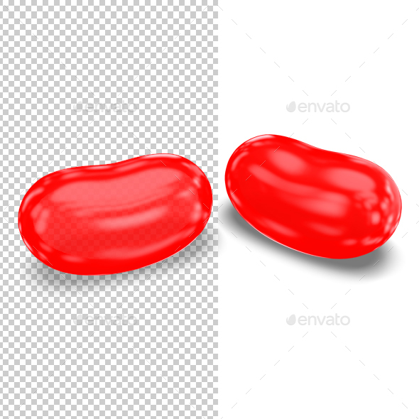 Jellybeans - Objects 3D Renders