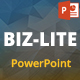 Biz-Lite PowerPoint Presentation Bundle - GraphicRiver Item for Sale