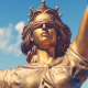 Statue of Lady Justice - VideoHive Item for Sale