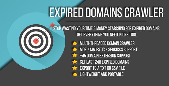 Expired Domains Crawler - CodeCanyon Item for Sale