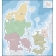 Map of Denmark - GraphicRiver Item for Sale